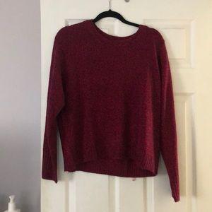 H&M maroon sweater - brand new!